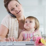 work at home mom with online business